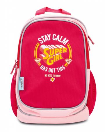 Předškolní batoh Supergirl – STAY CALM