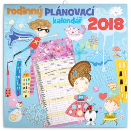 Family planner 2018, 30 x 30 cm
