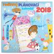 Rodinný plánovací kalendář 2018, 30 x 30 cm