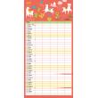 Rodinný plánovací kalendář 2020, 30 × 30 cm