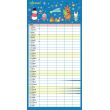 Rodinný plánovací kalendář 2021, 30 × 30 cm