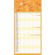 Rodinný plánovací kalendář 2022, 30 × 30 cm
