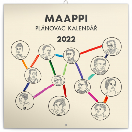 Family planner Maappi 2022, 30 × 30 cm