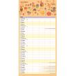 Rodinný plánovací kalendář SK 2020, 30 × 30 cm