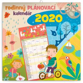 Family planner SK 2020, 30 × 30 cm