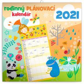 Family planner SK 2021, 30 × 30 cm