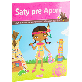Šaty pre APONI– Kniha samolepiek