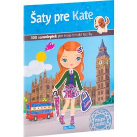 Šaty pre KATE– Kniha samolepiek