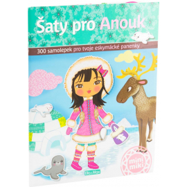 Anouk and her dresses - sticker book