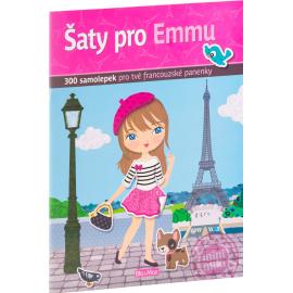 Šaty pro EMMU - kniha samolepek