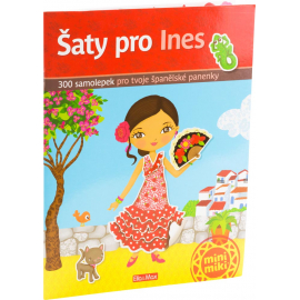 Ines and her dresses - sticker book