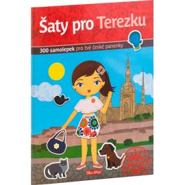 Šaty pro TEREZKU - kniha samolepek