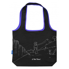 Foldable shopping bag Malý Princ (Le Petit Prince)