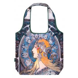 Skládací nákupní taška Mucha Zodiac