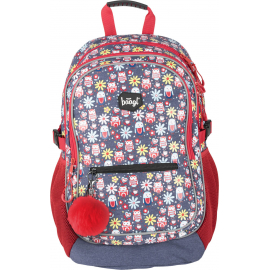 School backpack Happy Owls