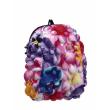 Školní batoh MadPax Bubble střední, květy