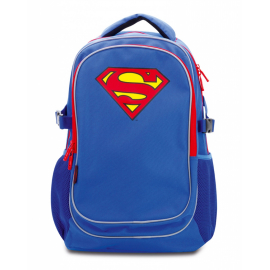 Large backpack with rain poncho Superman – ORIGINAL