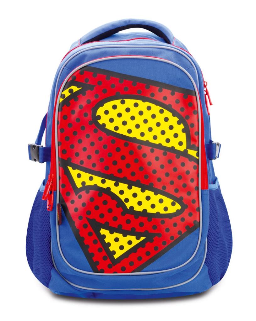 Školní batoh s pončem Superman – POP ... 76d5aa7080