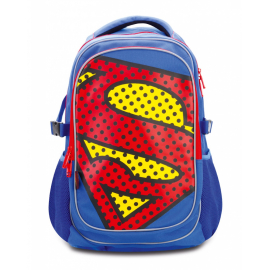 Large backpack with rain poncho Superman – POP