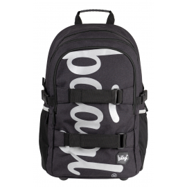 School backpack Skate Black