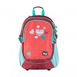 School backpack Hearts