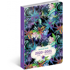 School diary Jungle (September 2020 - December 2021), 9,8 × 14,5 cm