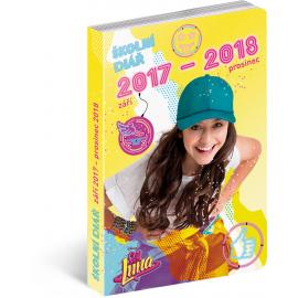 Školní diář Soy Luna (září 2017 – prosinec 2018), 9,8 × 14,5 cm
