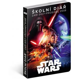 Školní diář Star Wars Classic (září 2017 – prosinec 2018), 9,8 × 14,5 cm