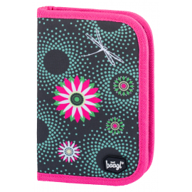 School Pencil Case Classic Flowers