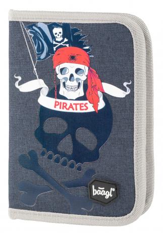 Školní penál klasik Piráti