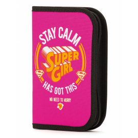 Pencilcase Supergirl – STAY CALM