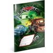 Školní sešit Auta – Green, A5, 40 listů, linkovaný