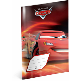 Exercise book Cars – Red, A5, 40 sheets, squared