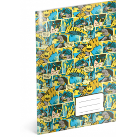 Exercise book Batman – Mix, A4, 40 sheets, lined