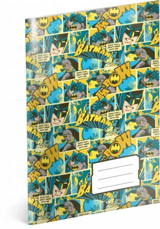 Školní sešit Batman – Mix, A4, 40 listů, linkovaný