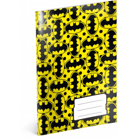 Exercise book Batman – Yellow, A5, 40 sheets, unlined