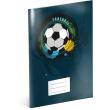 Školní sešit Fotbal, A4, 40 listů, čtverečkovaný