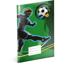 Školní sešit Fotbal, A4, 40 listů, linkovaný