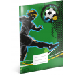Exercise book Fotball, A4, 40 sheets, lined