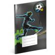 Školní sešit Fotbal, A4, 40 listů, nelinkovaný