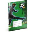 Školní sešit Fotbal, A5, 40 listů, čtverečkovaný