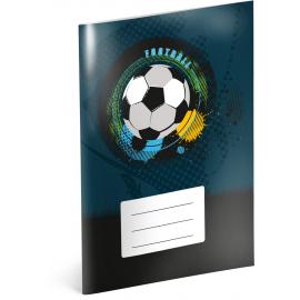 Školní sešit Fotbal, A5, 40 listů, nelinkovaný