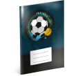 Exercise book Fotball, A5, 40 sheets, unlined