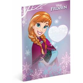 Školní sešit Frozen – Ledové království Anna, A5, 40 listů, linkovaný