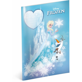 Exercise book Frozen – Castle, A4, 40 sheets, lined