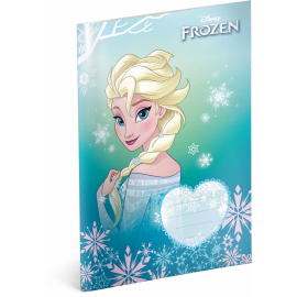 Exercise book Frozen – Elsa, A5, 40 sheets, unlined