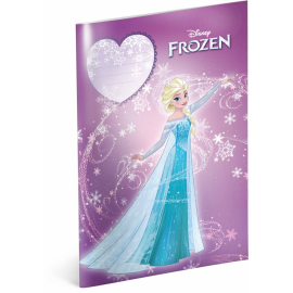Exercise book Frozen – Power, A4, 40 sheets, unlined