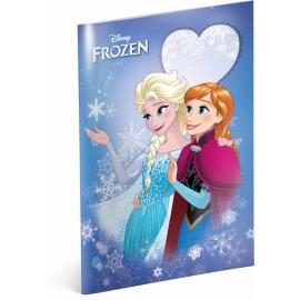 Školní sešit Frozen – Ledové království Smile, A4, 40 listů, čtverečkovaný