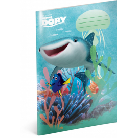 Exercise book Finding Dory – Destiny, A4, 40 sheets, unlined
