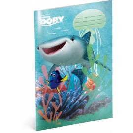 Školní sešit Hledá se Dory – Destiny, A4, 40 listů, nelinkovaný